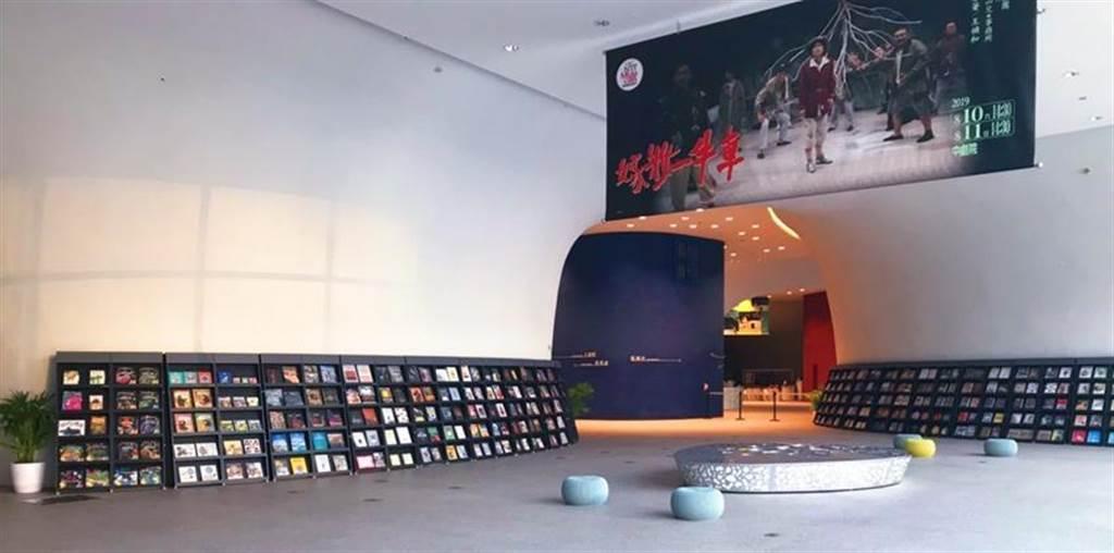 益品書屋巡迴書展即日起進駐台中國家歌劇院,展期至8/25。圖/益品書屋