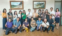 竹市美術協會在地檢署做夏之旅聯展