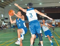 兩岸籃球名校 金門軋球技