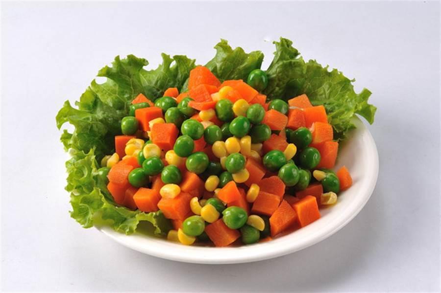 三色豆是民眾最厭惡的便當配菜,沒有之一 (圖/翻攝自網路)