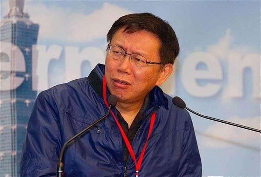台北市长柯文哲。(图/本报系资料照)
