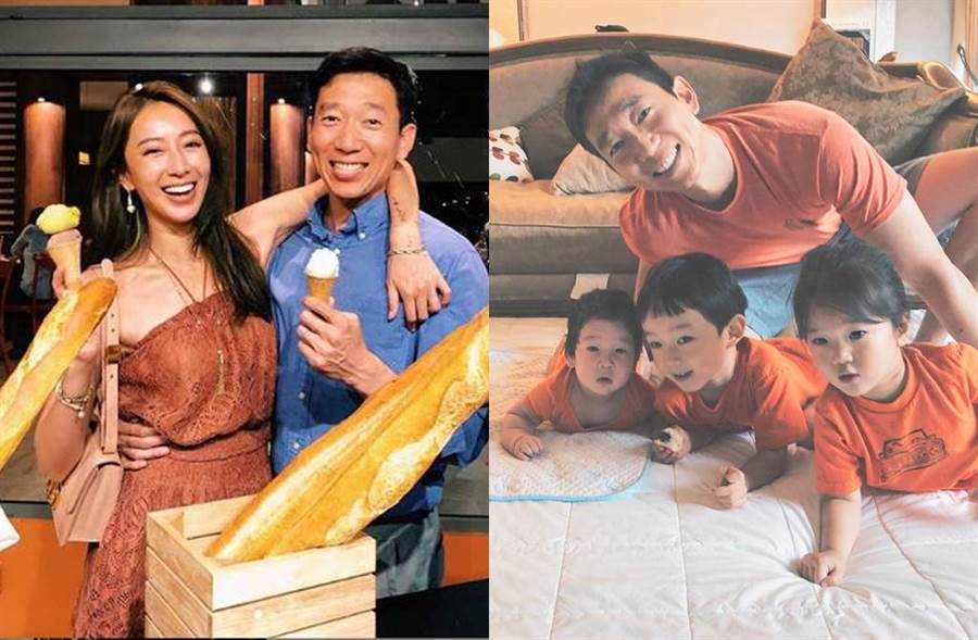 隋棠和老公Tony婚後育有2子1女。(圖/翻攝自IG)