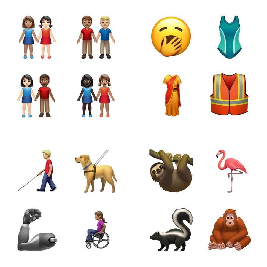 蘋果官網宣布將在秋季隨著新系統上線,加入 59 種全新表情符號。(圖/翻攝蘋果官網)
