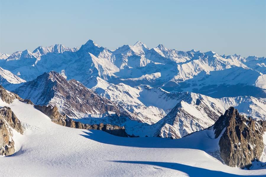 阿爾卑斯山冒出詭異藍湖 專家嚇壞(示意圖/達志影像)
