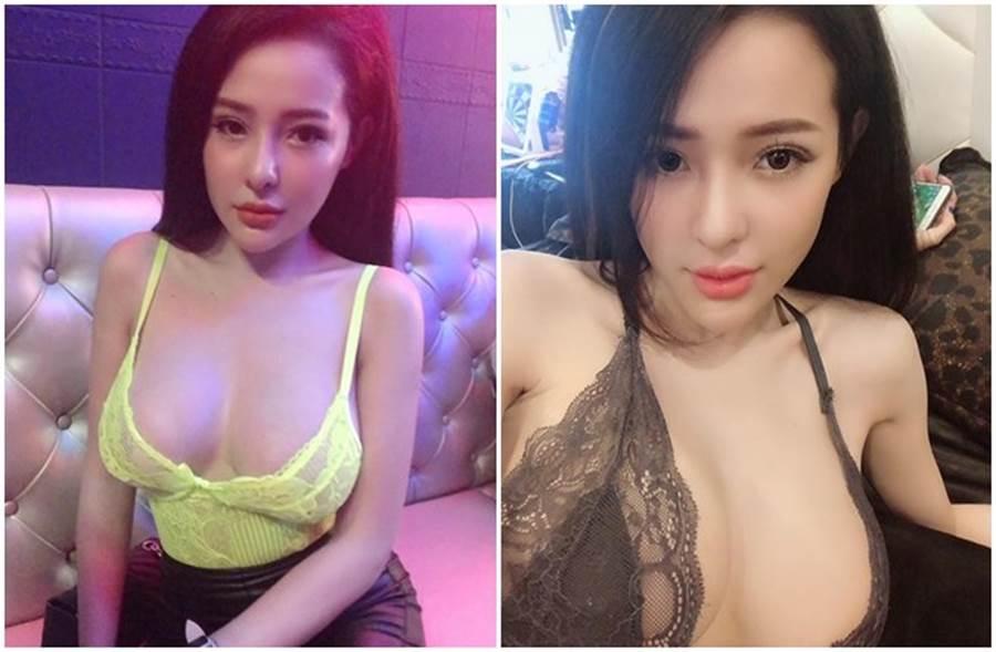 越南網紅娜娜外型性感,穿著火辣。(取自臉書)