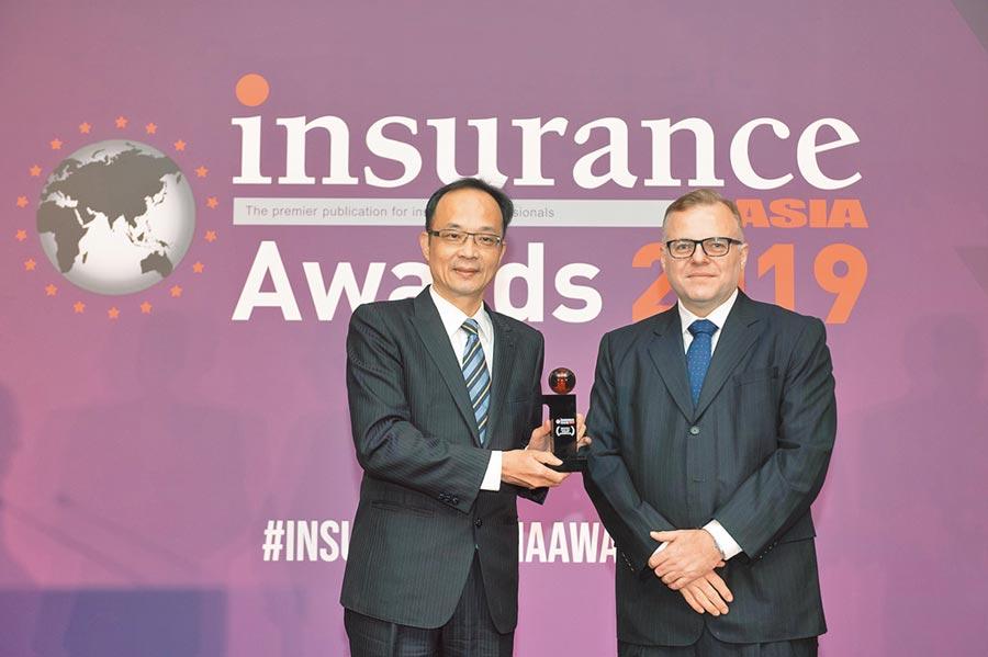 台灣人壽以「健康醫療管家網站」專案參加亞洲銀行及財金雜誌(ABF)舉辦的「保險業亞洲獎」,獲年度最佳市場行銷獎。圖/台灣人壽提供
