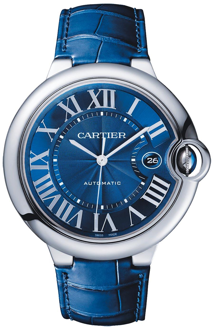 卡地亞Ballon Bleu de Cartier藍氣球腕表,19萬2000元。(Cartier提供)