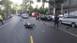 小白客逆向狂飆 機車騎士遭撞慘死