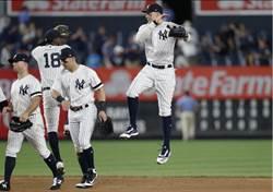 MLB》總教練爆氣後 洋基大開殺戒單日2勝