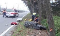車禍自撞多暗夜 自撞死亡占總死亡數16.9%