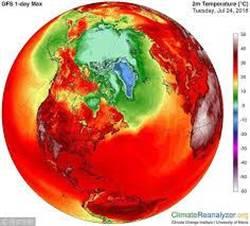 氣溫創新高 百年來最熱六月