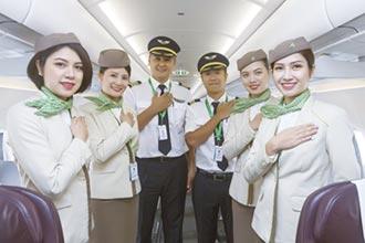 越竹航空直飛峴港 搭乘率高達九成
