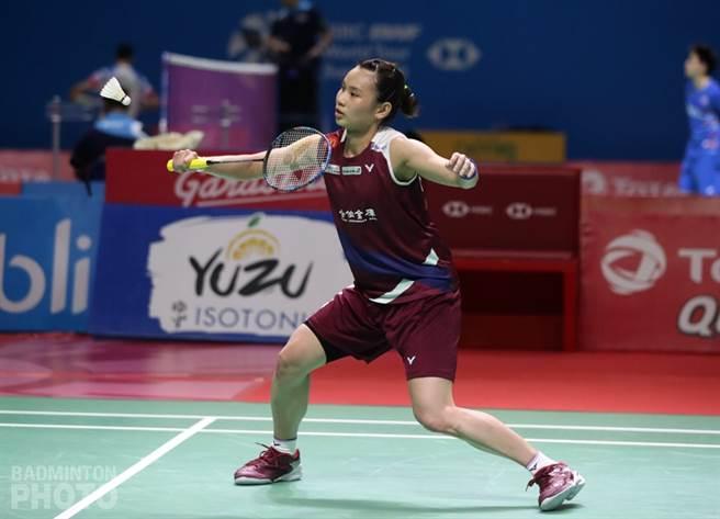 戴資穎迎戰天敵,2比1驚險擊敗依瑟儂。(Badminton Photo提供)