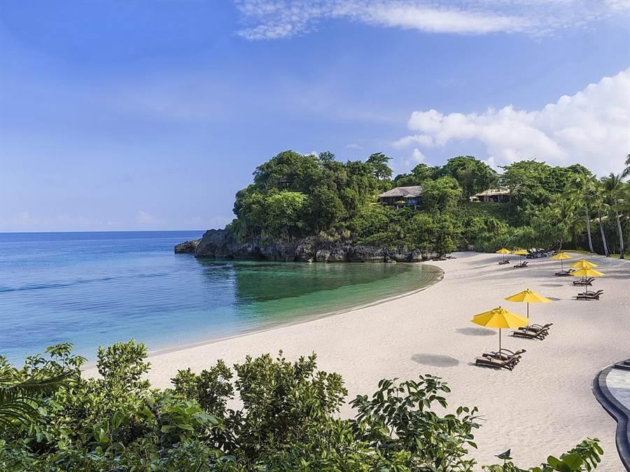 年底前預訂香格里拉台北遠東飯店「香.愛」婚宴專案,滿28桌即送包括菲律賓香格里拉長灘島在內的島嶼度假。(圖/香格里拉台北遠東飯店)