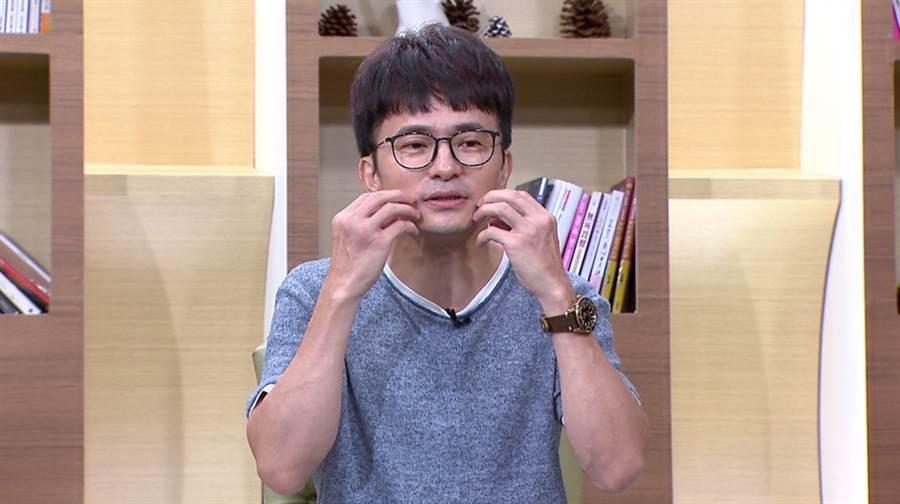 唐從聖表示5月時染上腫臉怪病。(圖/年代提供)