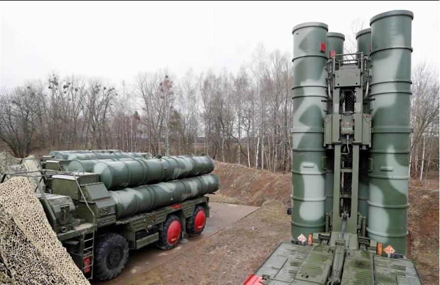 俄羅斯S-400防空系統的資料照。(路透)