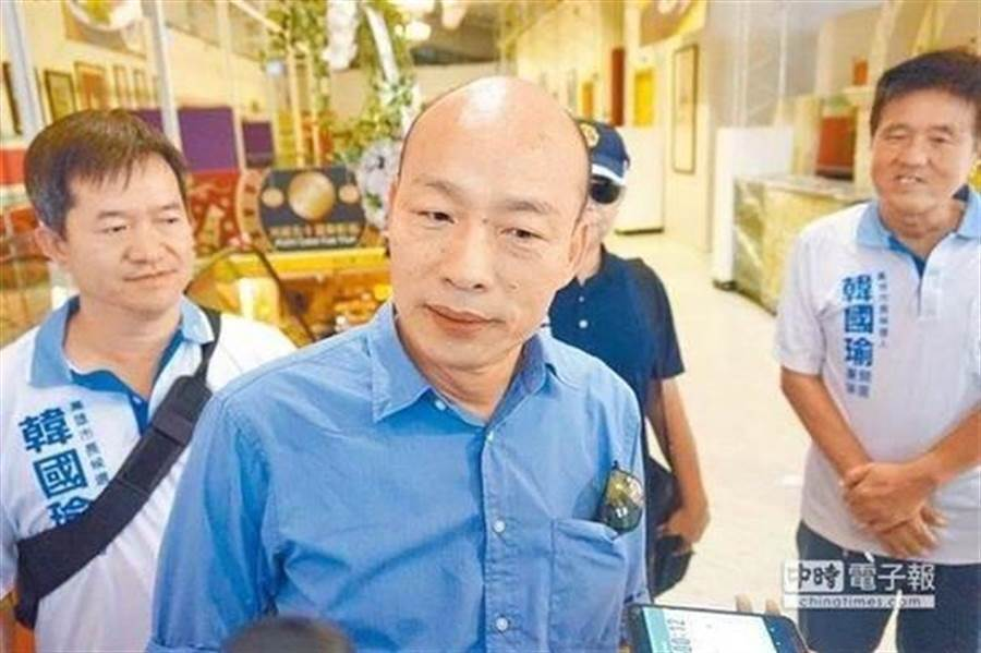 高雄市長韓國瑜。(圖為中時資料照)