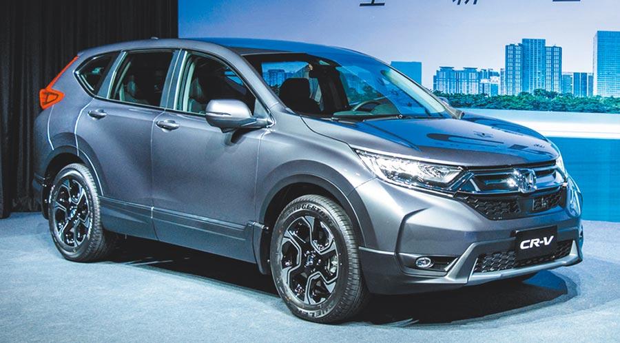 Honda CR-V是自2017年中發表的第五代產品,目前仍有超過1,500近2,000輛的月銷售能量。圖/陳慶琪