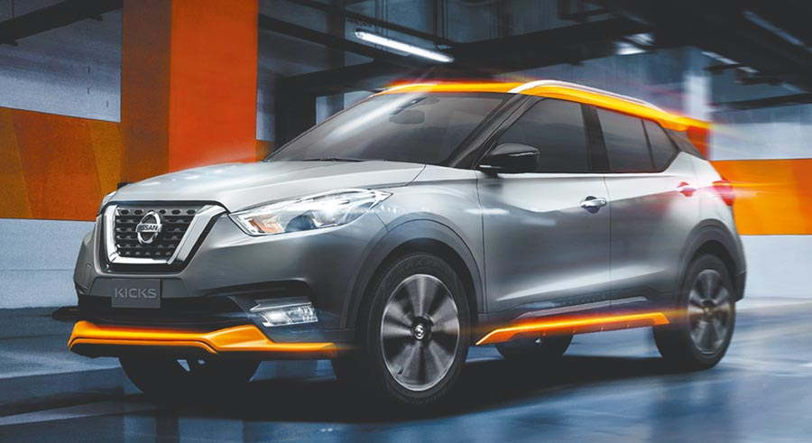 小型跨界休旅的銷售爭霸,在Nissan Kicks上市之後,可說一路壓制同級競爭對手。圖/陳慶琪