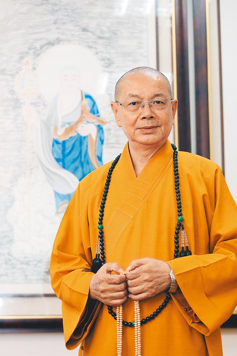中國佛教會理事長淨耀法師稱,林飛帆是「社會亂源」,「難道一定要將兩岸推向戰爭?」(本報資料照片)