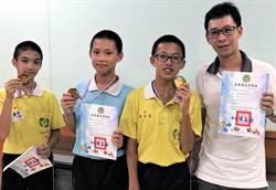 南榮國中參加屏縣機器人比賽 獲競速組冠軍