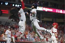 MLB》紅雀打瘋單局攻10分 卻差點不夠花