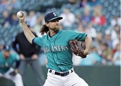 MLB》水手李克差點完全比賽 可惜第9局破功