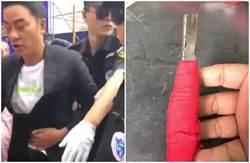 任達華被捅凶器疑曝光!「生鏽刀片裹刺眼紅布」