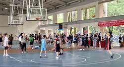 埔里鎮籃球3對3錦標賽 流汗暢快青春不留白