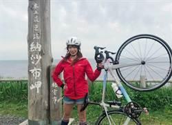 女鐵人段慧琳出外景 手提行李是「20萬單車」