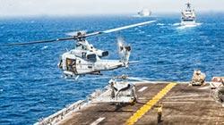 傳美艦擊落伊朗無人機