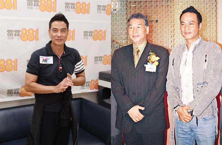 任达华哥哥任达荣曾担任警务处副处长。(图/达志影像;取自《on.cc东网》)