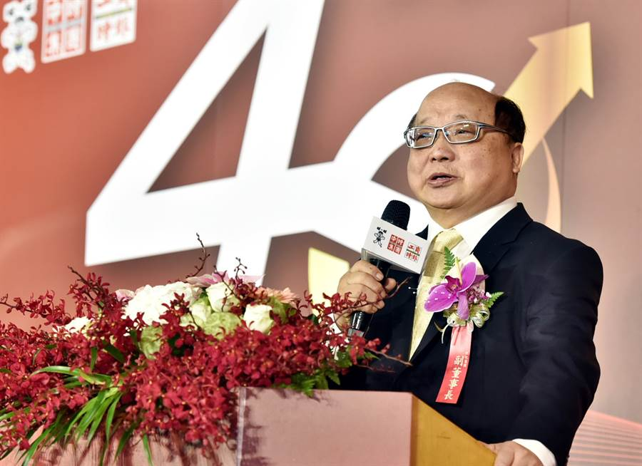 旺旺集團副董事長胡志強。(圖/顏謙隆)