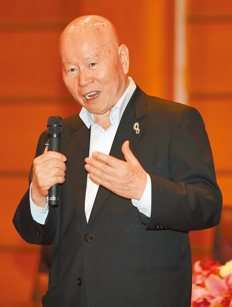 前民進黨主席許信良。(本報資料照片)