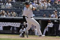MLB》好痛!洋基渥特被觸身球打臉