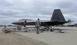 F-22戰機飛行員進行「熱座位」訓練