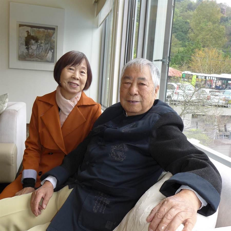 氣象主播李富城愛妻不敵病魔,享壽86歲。(照片/取自 李富城臉書)