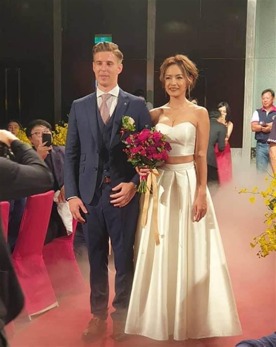 王煒詞將遠嫁比利時。