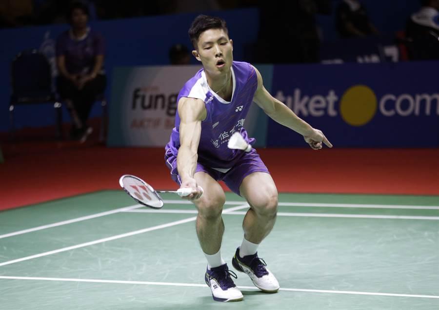 台灣羽球好手周天成,下周世界排名將前進到第二位,創下本土男將紀錄。(資料照/美聯社)