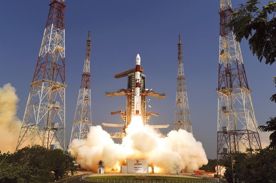 印度要當太空強權圖╱美聯社