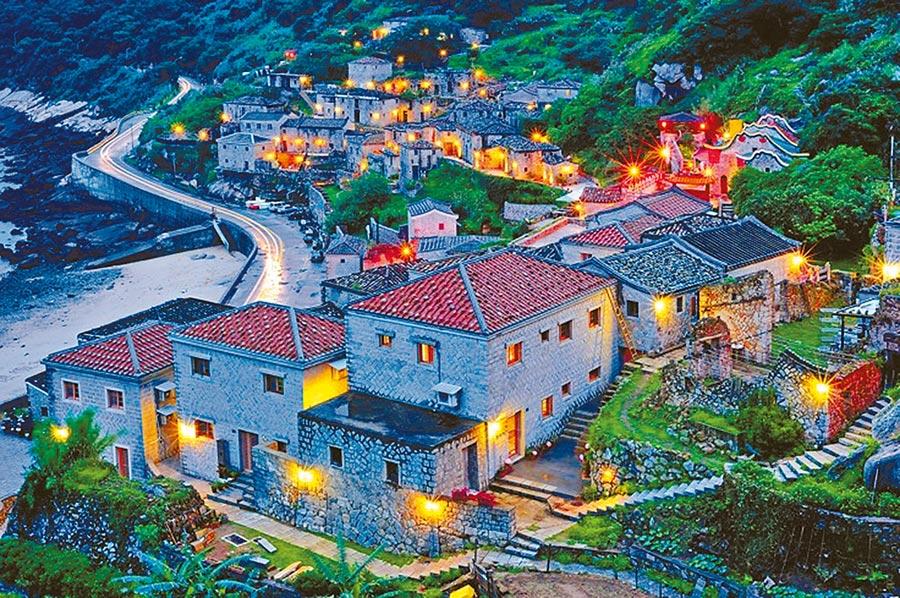 獨特風華馬祖芹壁村。