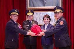 中市警察局新卸任分局長及大隊長接棒就職
