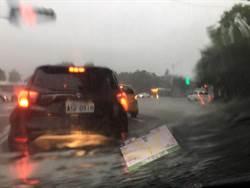 雨彈狂炸!大台北多處淹水 網驚:我在河裡