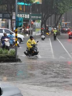 台北強降雨  其邁、貞昌不勘災惹怒議員