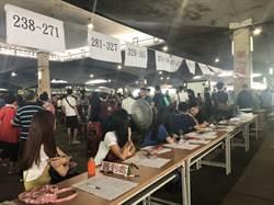 攤商高喊「我要生存!」 環南市場抽籤衝突中落幕