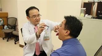 25歲紅唇族舌痛 癌末併頸移轉