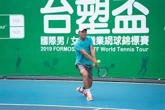 台塑盃網賽》會外賽台灣內戰 力抗日本軍團