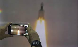 緊追美俄陸  印度「月船二號」發射升空挑戰登月任務