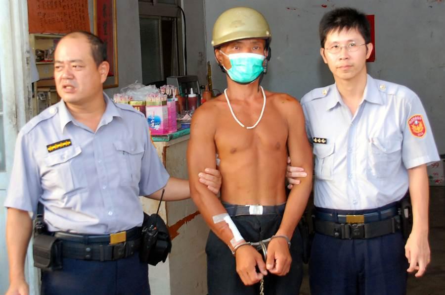 台灣野人林金寶出獄後,近來又流竄屏東滿州山區。〈中時資料庫〉