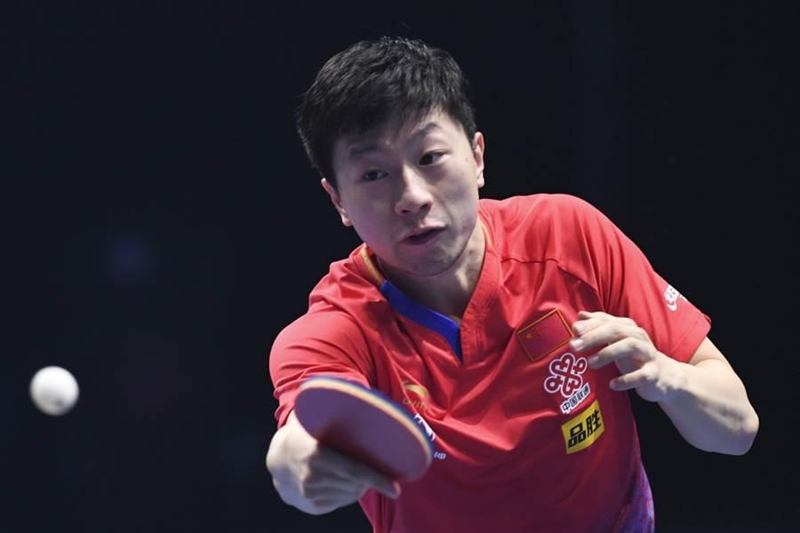 中國大陸桌球名將馬龍。(新華社資料照)